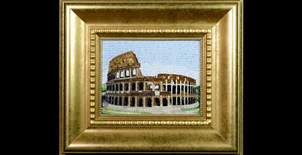 Mosaic : Colosseo 22×27