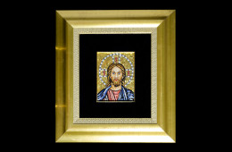 Mosaic : Cristo 12×16