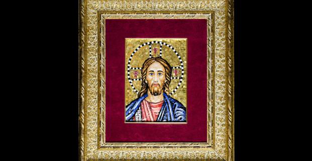 Mosaic : Cristo 16×22