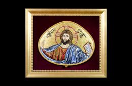 Mosaic : Cristo Bizantino