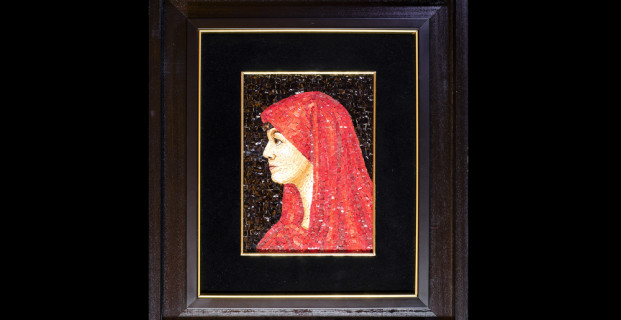 Mosaic : Fabiola 16×22