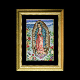 Madonna Guadalupe – 33×50