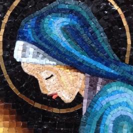 Madonna della Pietà – (profilo) – 16×22